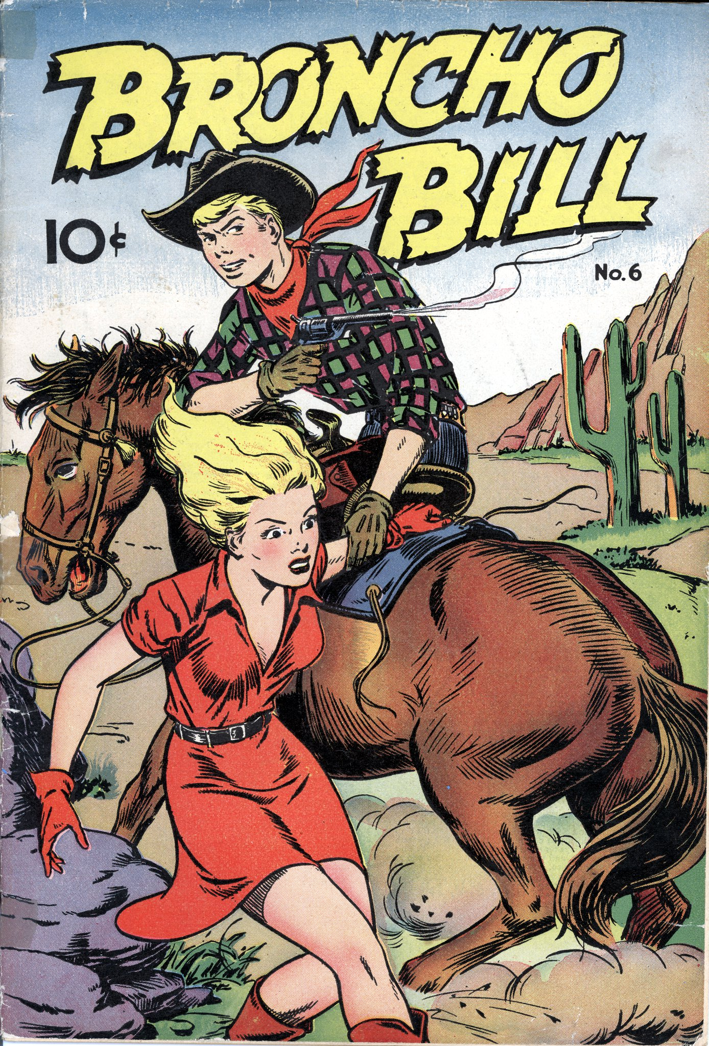 Broncho Bill #6 by Pines