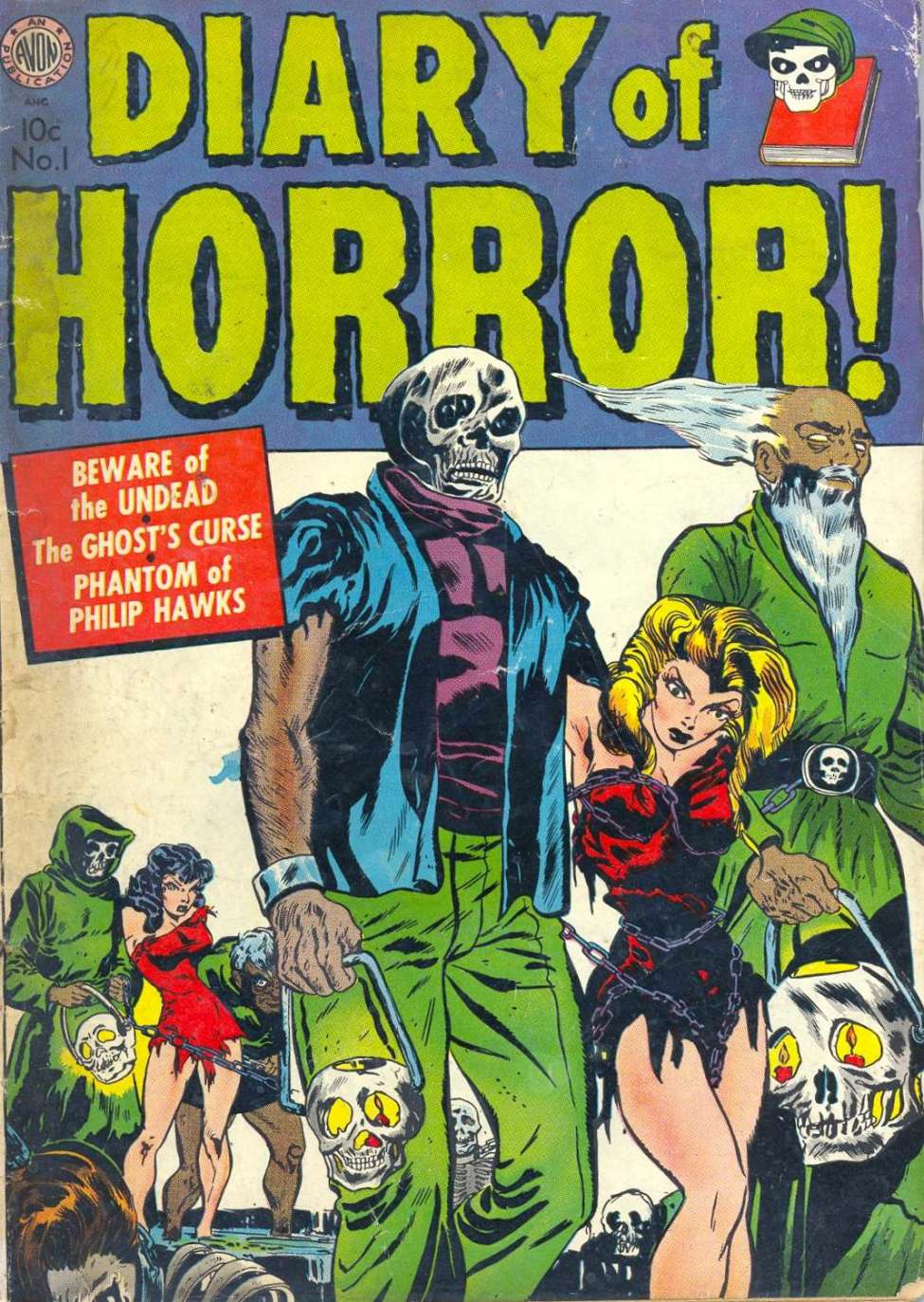 Diary of Horror #1 by Avon