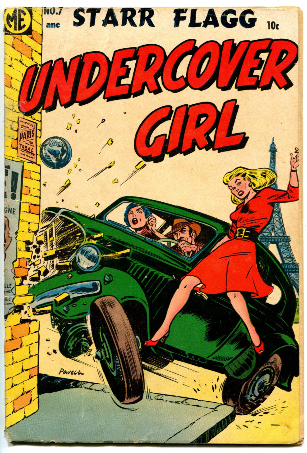 Undercover Girl #7 by Magazine Enterprises