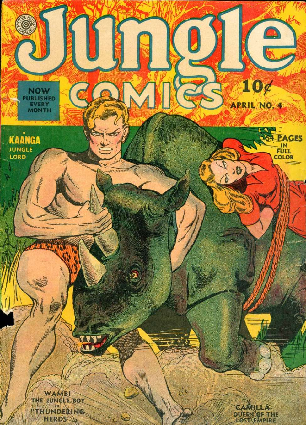 Jungle Comics #17 by Fiction House