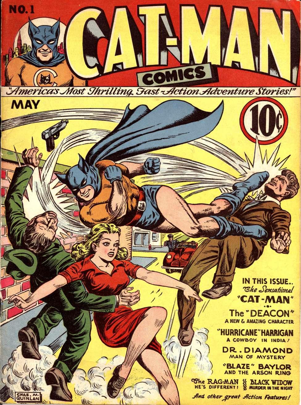 Cat Man #1 by Helnit Publishing Co.