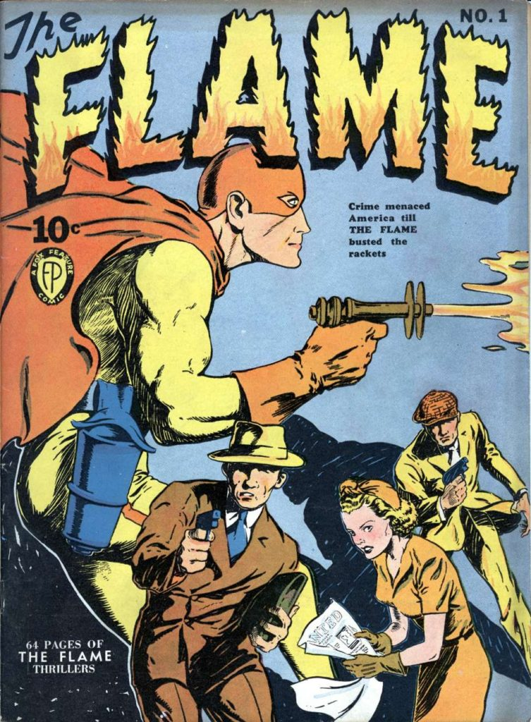 The Flame #1 by Fox