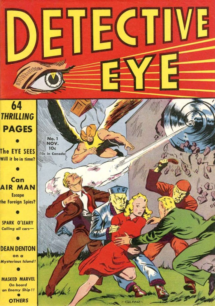 Detective Eye #1 by Centaur