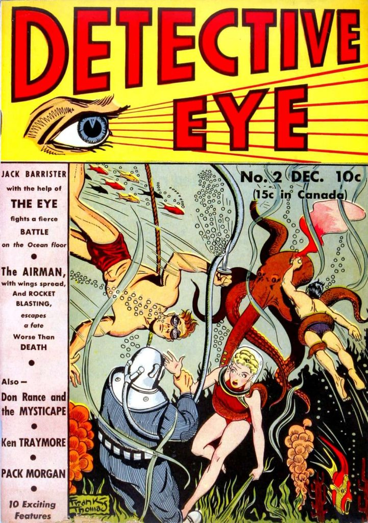 Detective Eye #2 by Centaur