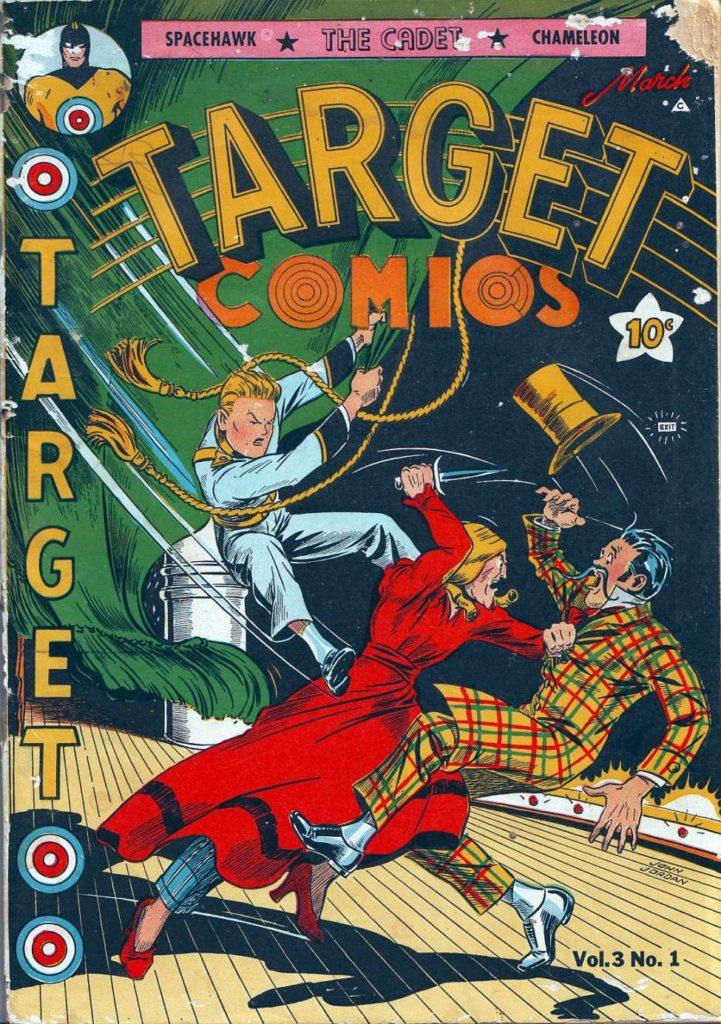 Target Comics v3 #1 by Novelty Press
