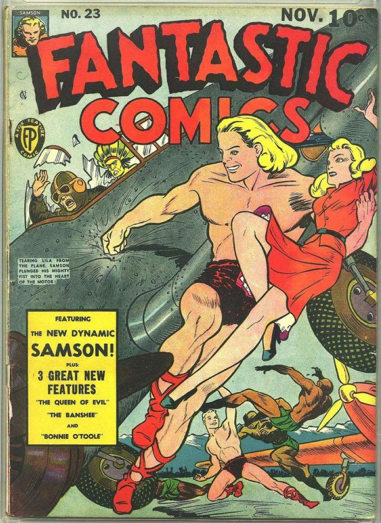 Fantastic Comics #23 by Fox Features