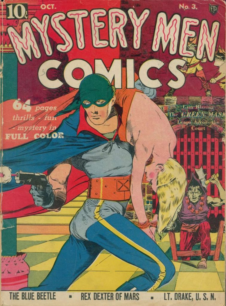 Mystery Men Comics #3 by Fox Features