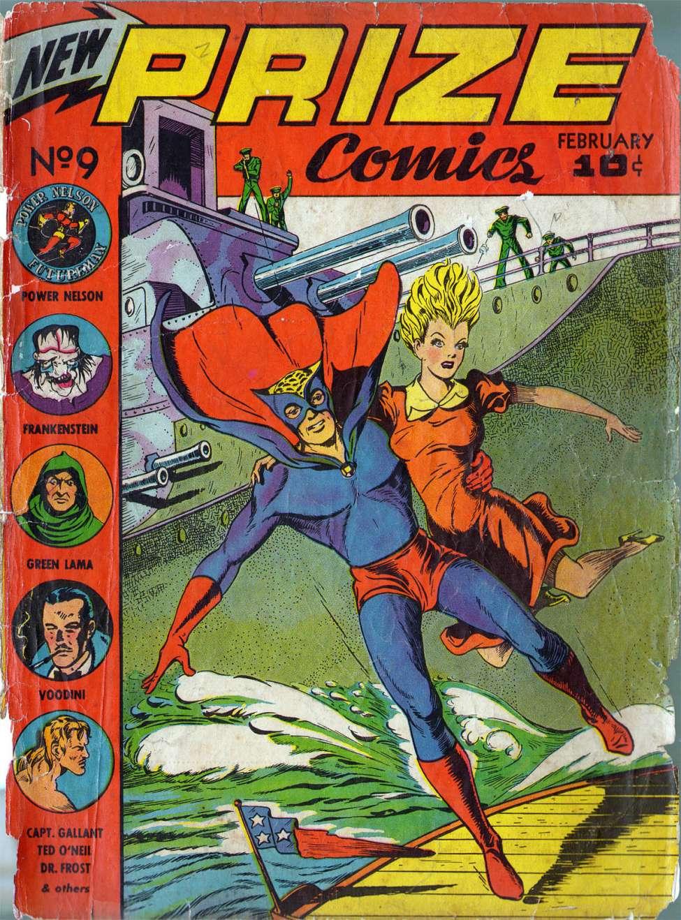 Prize Comics #9 by Prize