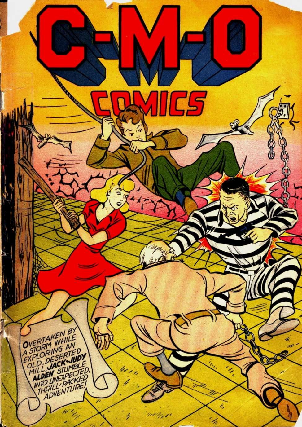 C-M-O Comics #1 by Centaur