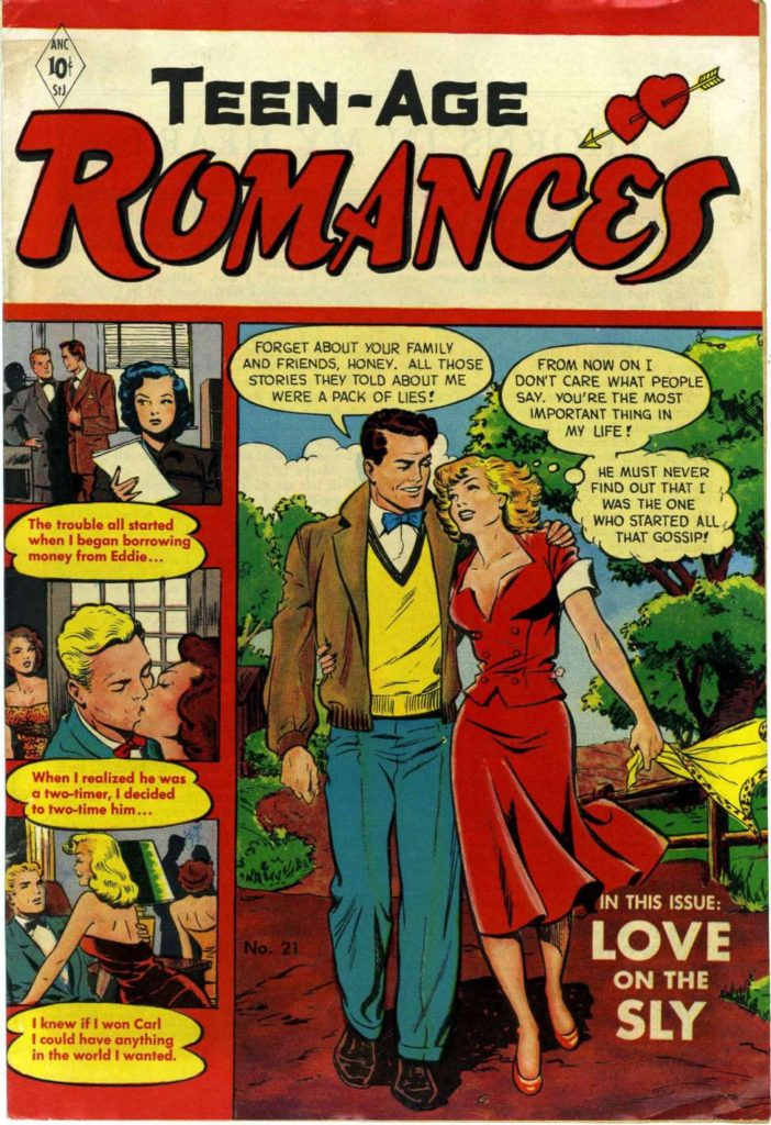 Teen-Age Romances #21 by St. John