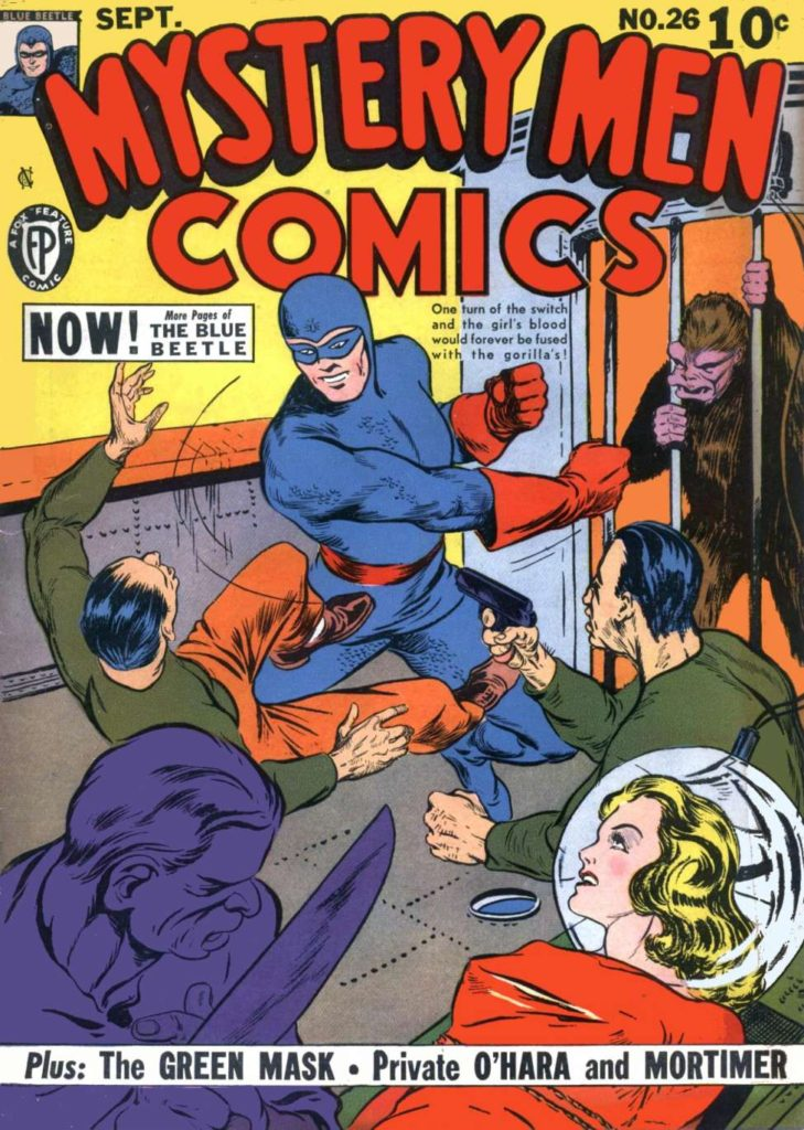 Mystery Men #26, by Fox Features