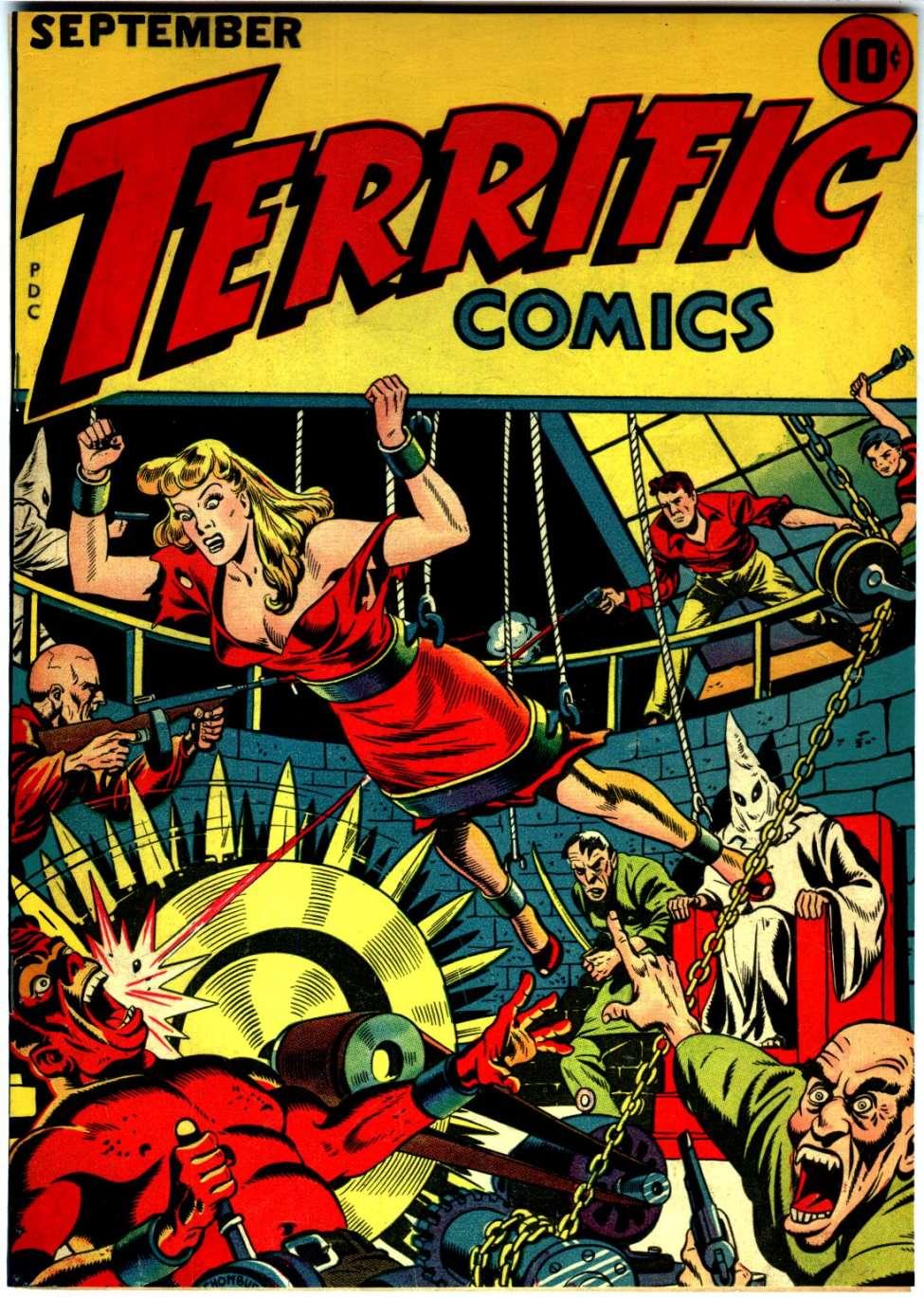 Terrific Comics #5, Continental