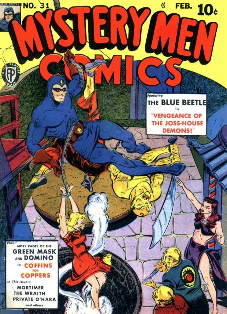 Mystery Men Comics #31, Fox Features