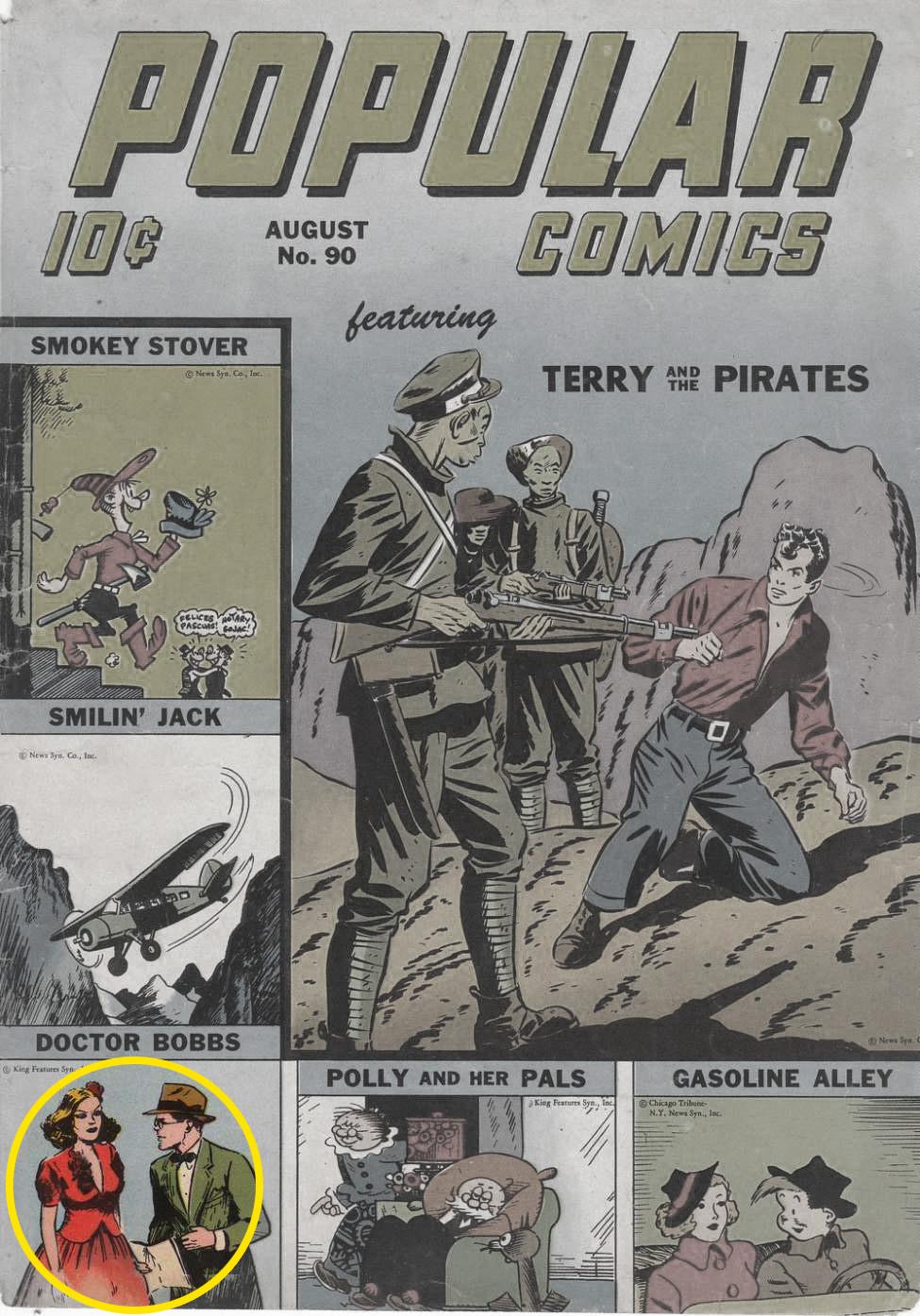 Popular Comics #90, Dell