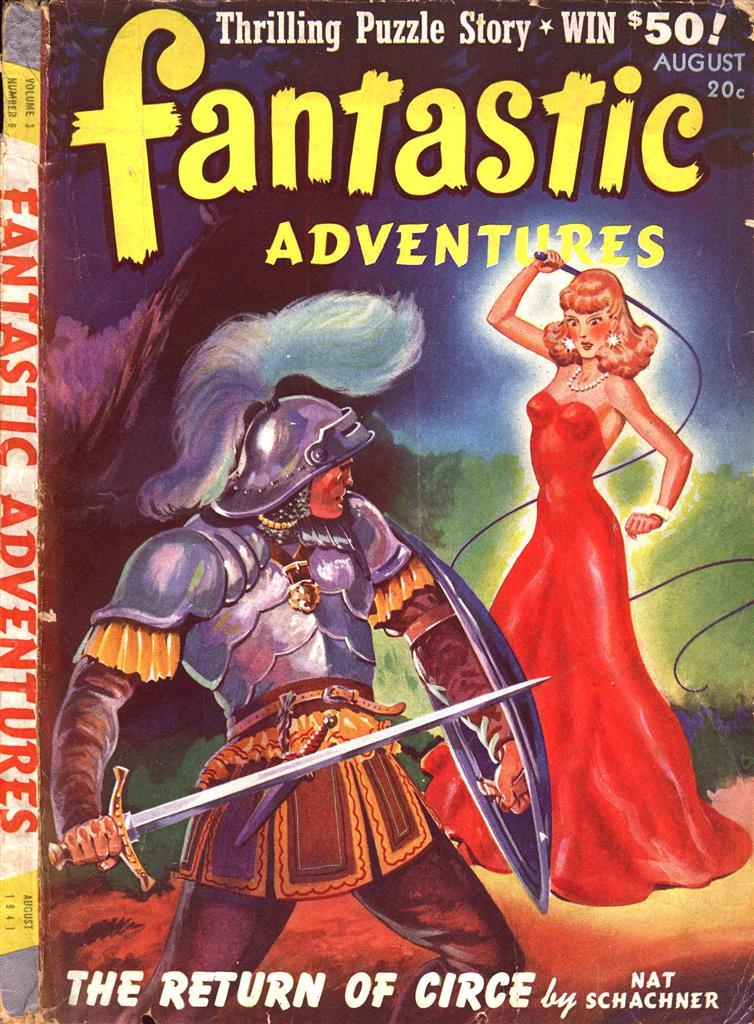 Fantastic Adventures v3 #6