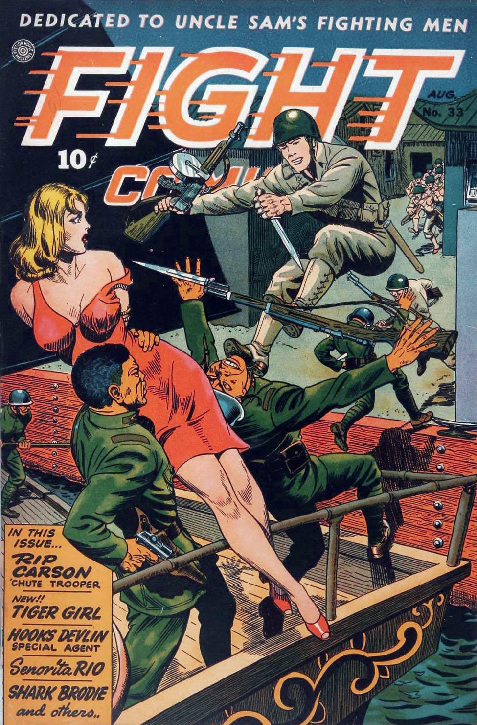 Fight Comics #33, Fiction House