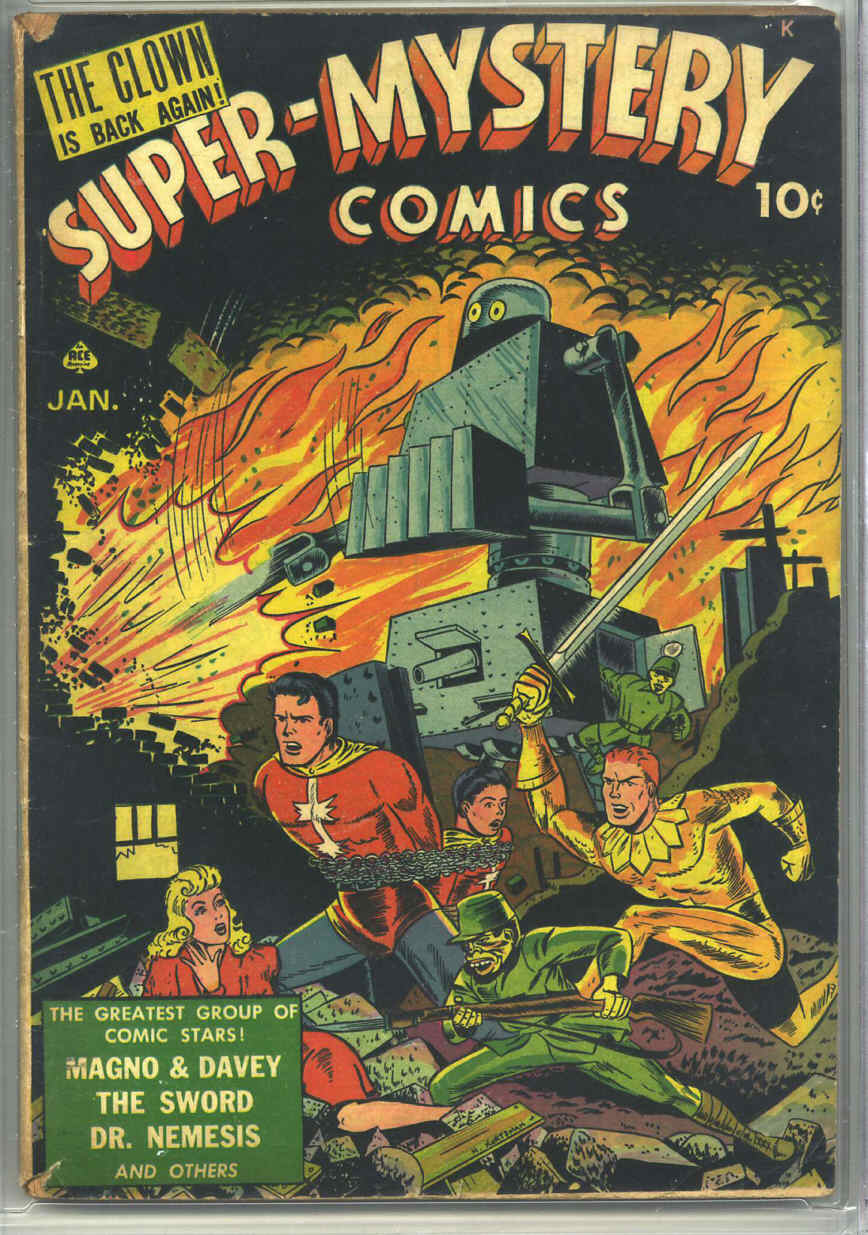Super-Mystery Comics v3 #3, Ace