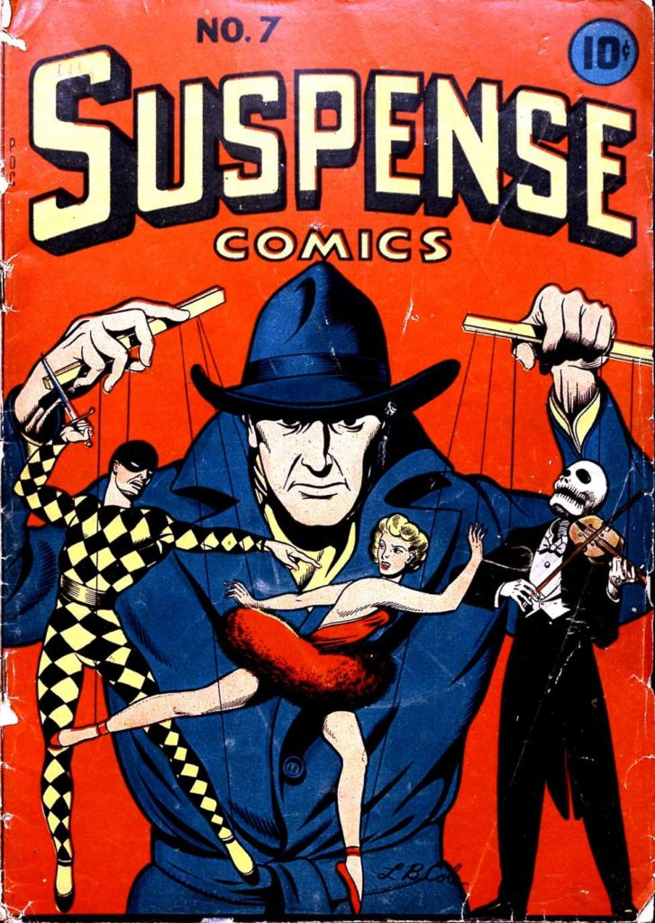 Suspense Comics #7, Continental