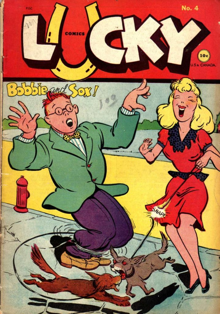 Lucky Comics #4, Consolidated