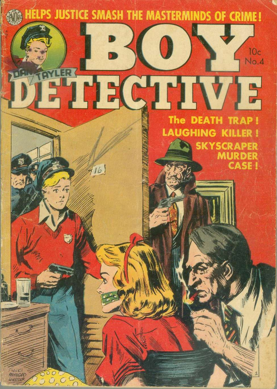 Boy Detective #4, by Avon