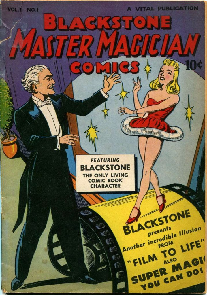 Blackstone Master Magician Comics #1, by Vital Publications