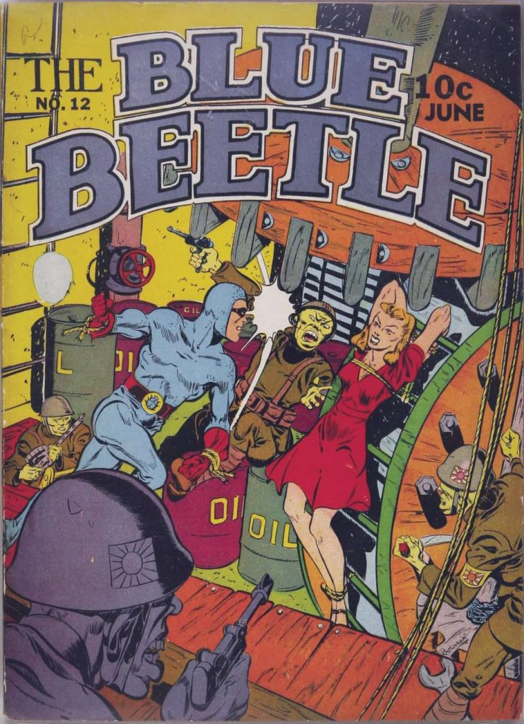 The Blue Beetle #12, Holyoke