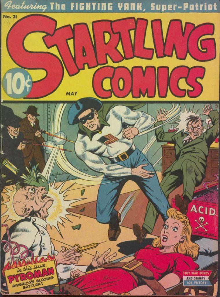 Startling Comics v7 #21, Pines
