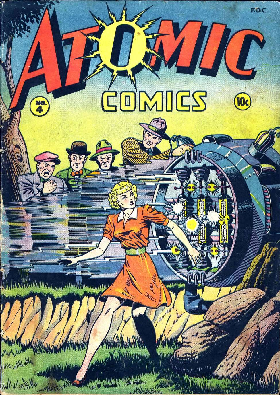 Atomic Comics #4, by Green Publishing