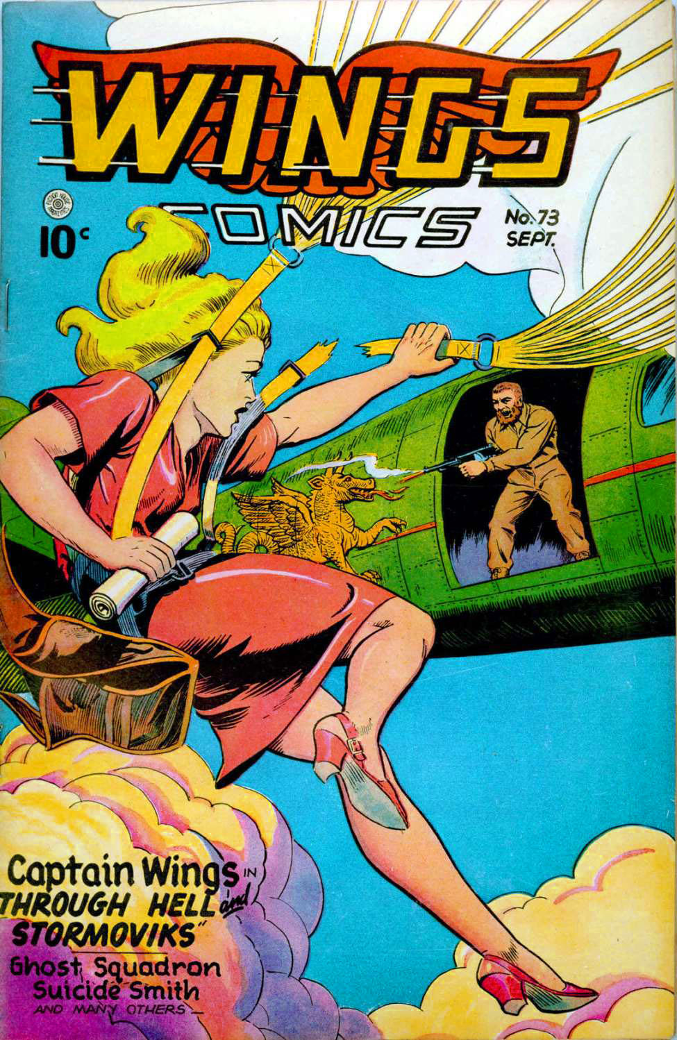 Wings Comics #73, Fiction House