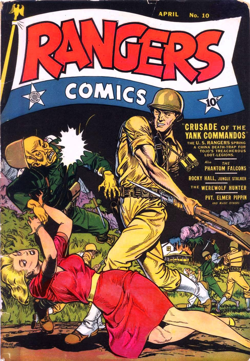 Rangers Comics #10, Fiction House