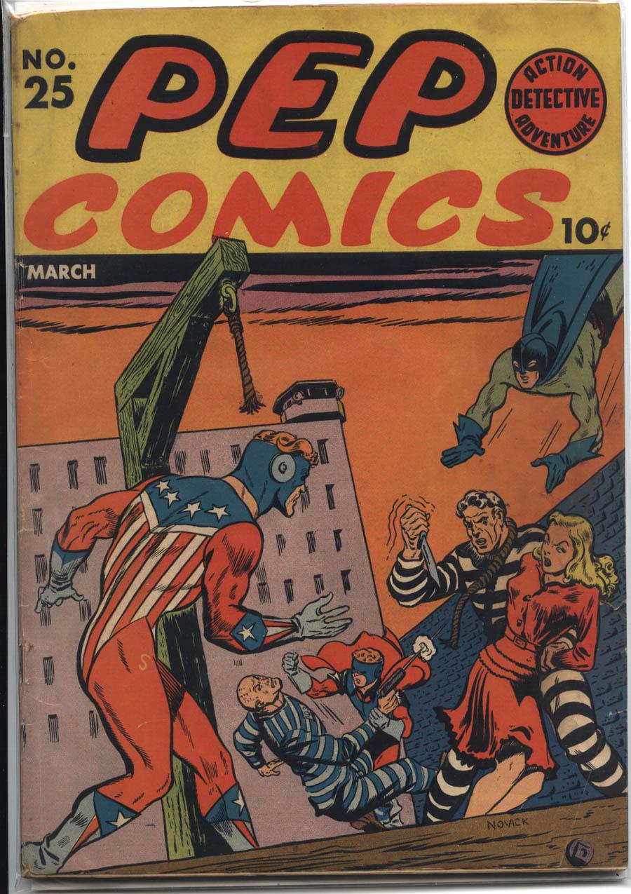 Pep Comics #25, MLJ