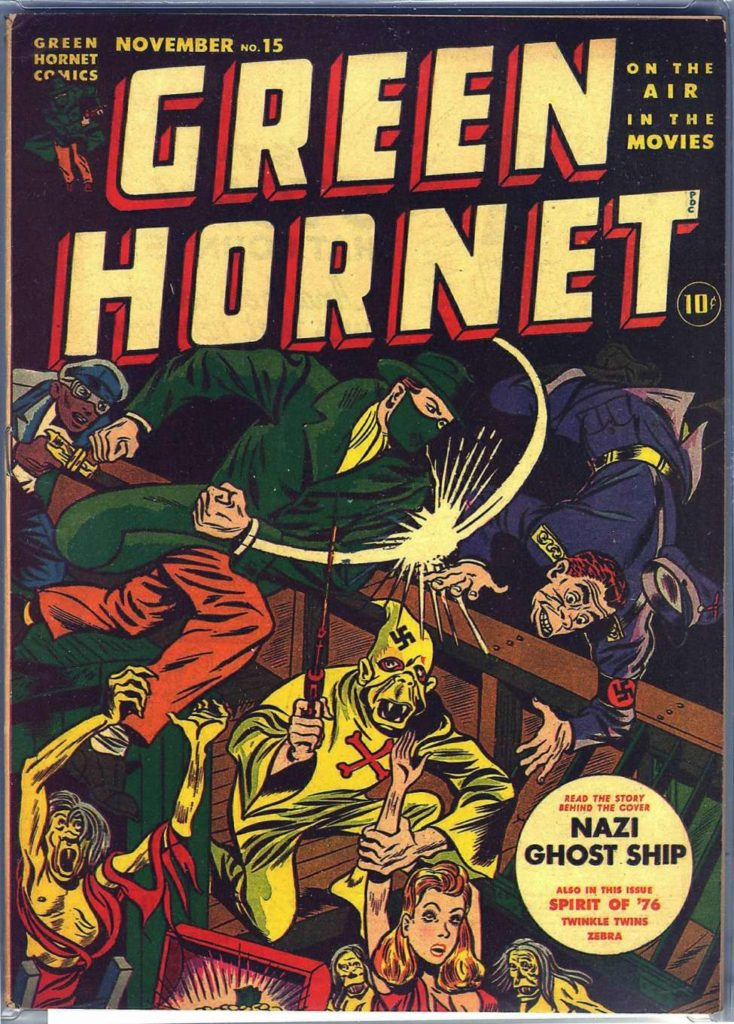 Green Hornet #15, Harvey