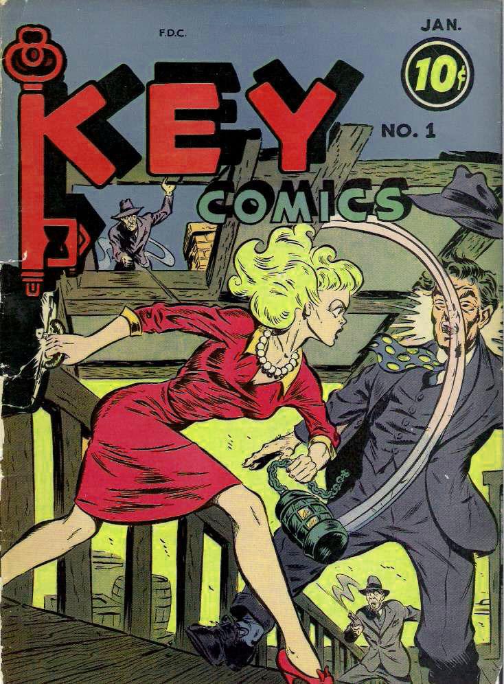 Key Comics #1, Consolidated