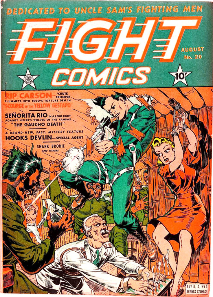 Fight Comics #20, Fiction House