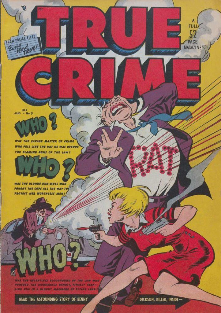 True Crime v1#3, Magazine Village