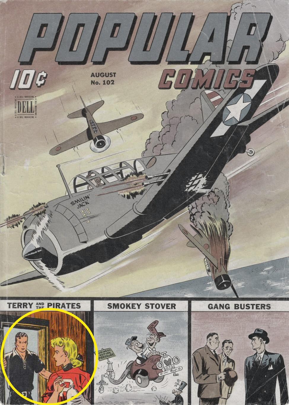 Popular Comics #102, Dell