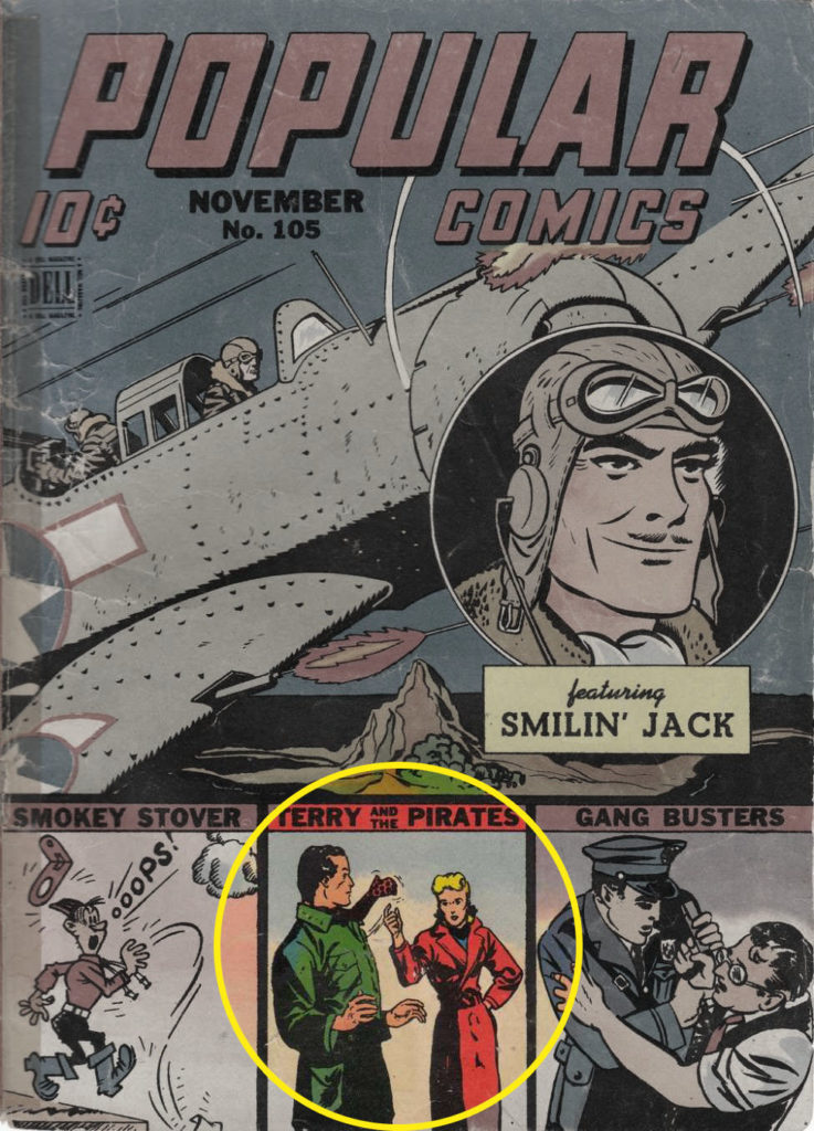 Popular Comics #105, Dell