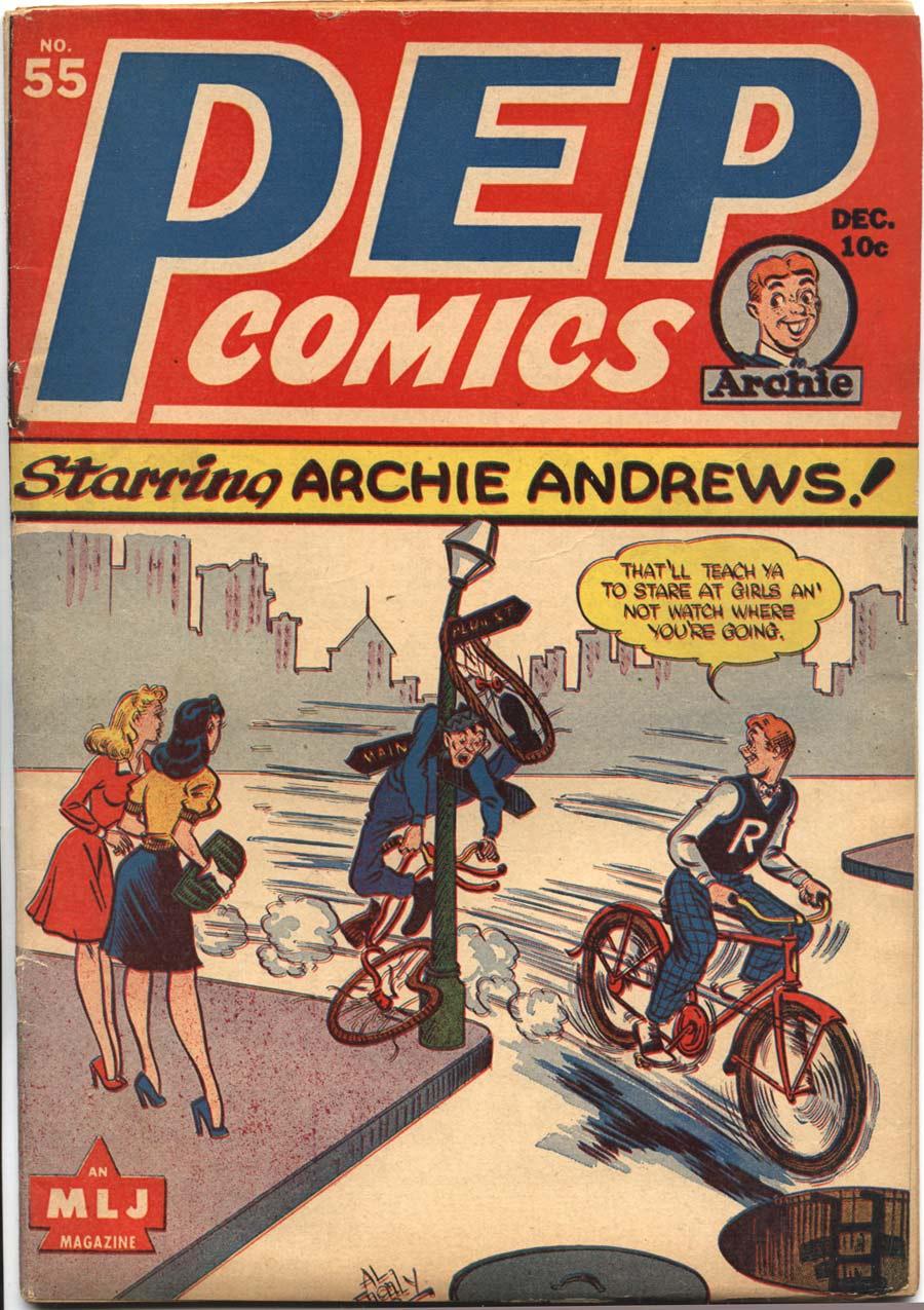 Pep Comics #55, MLJ