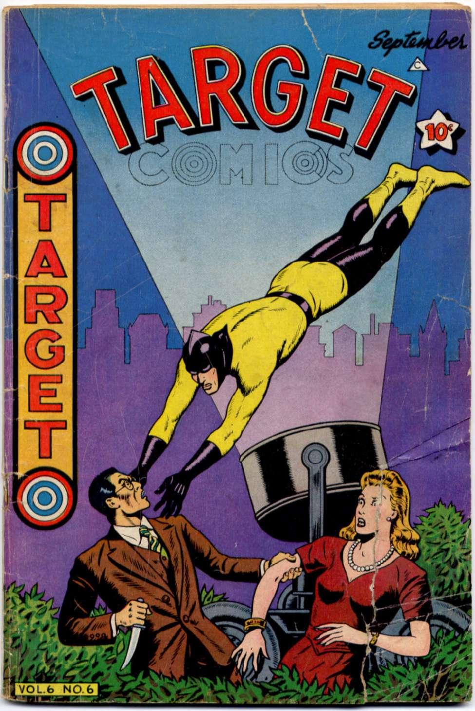 Target Comics v6 #6, Novelty