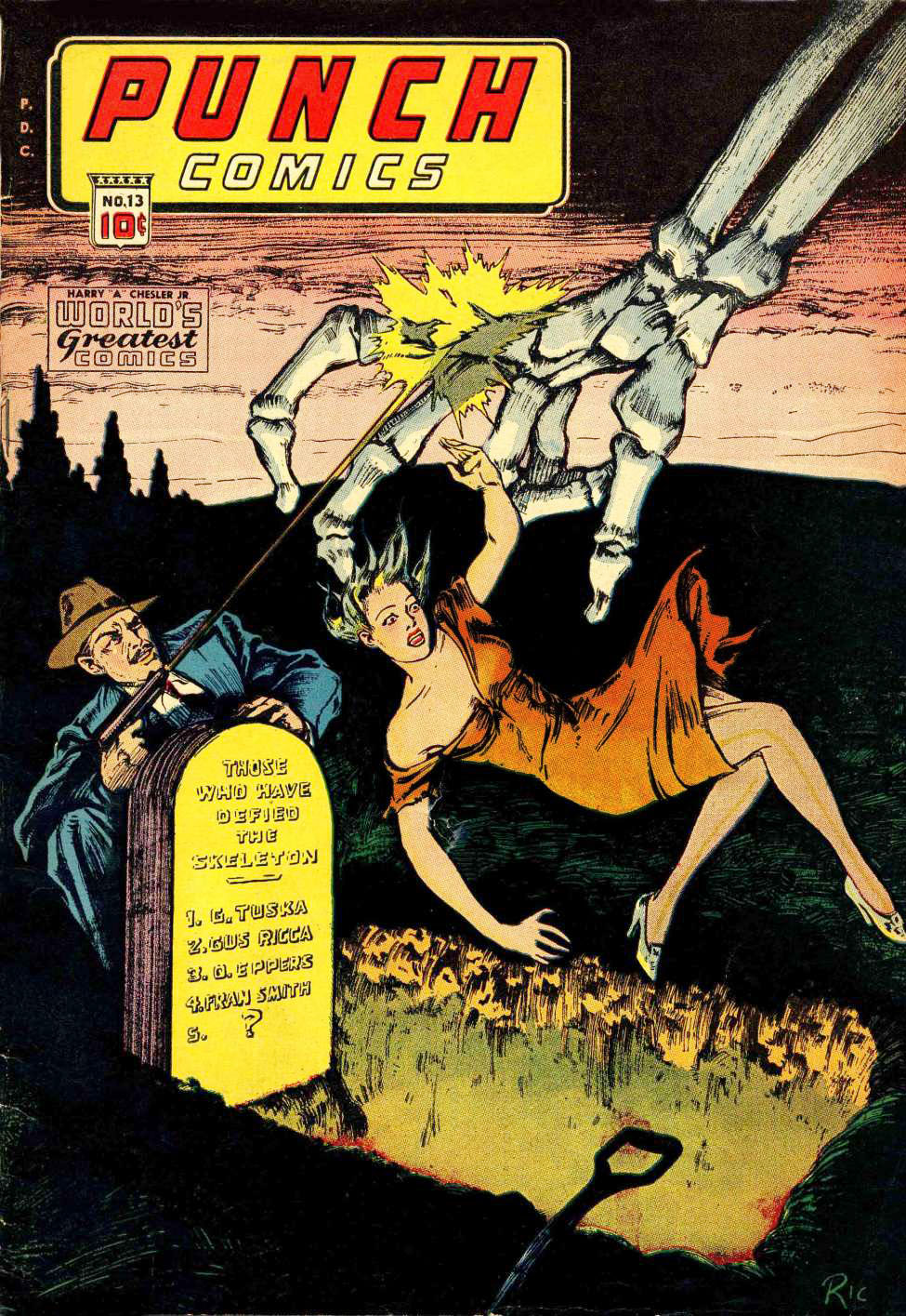 Punch Comics #13, Chesler