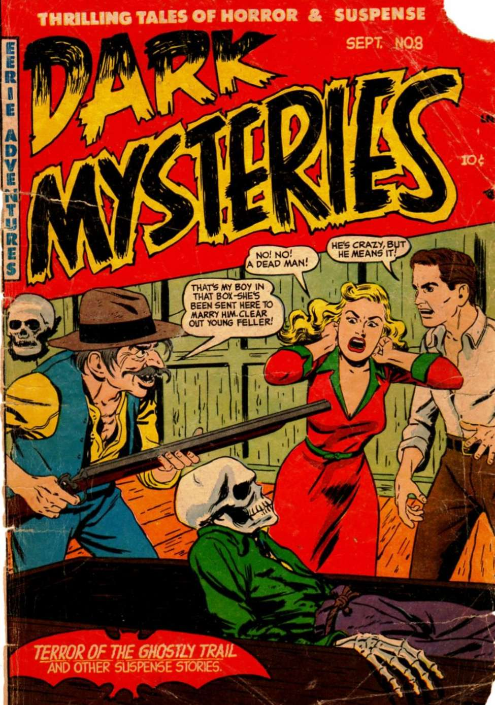 Dark Mysteries #8, Story Comics