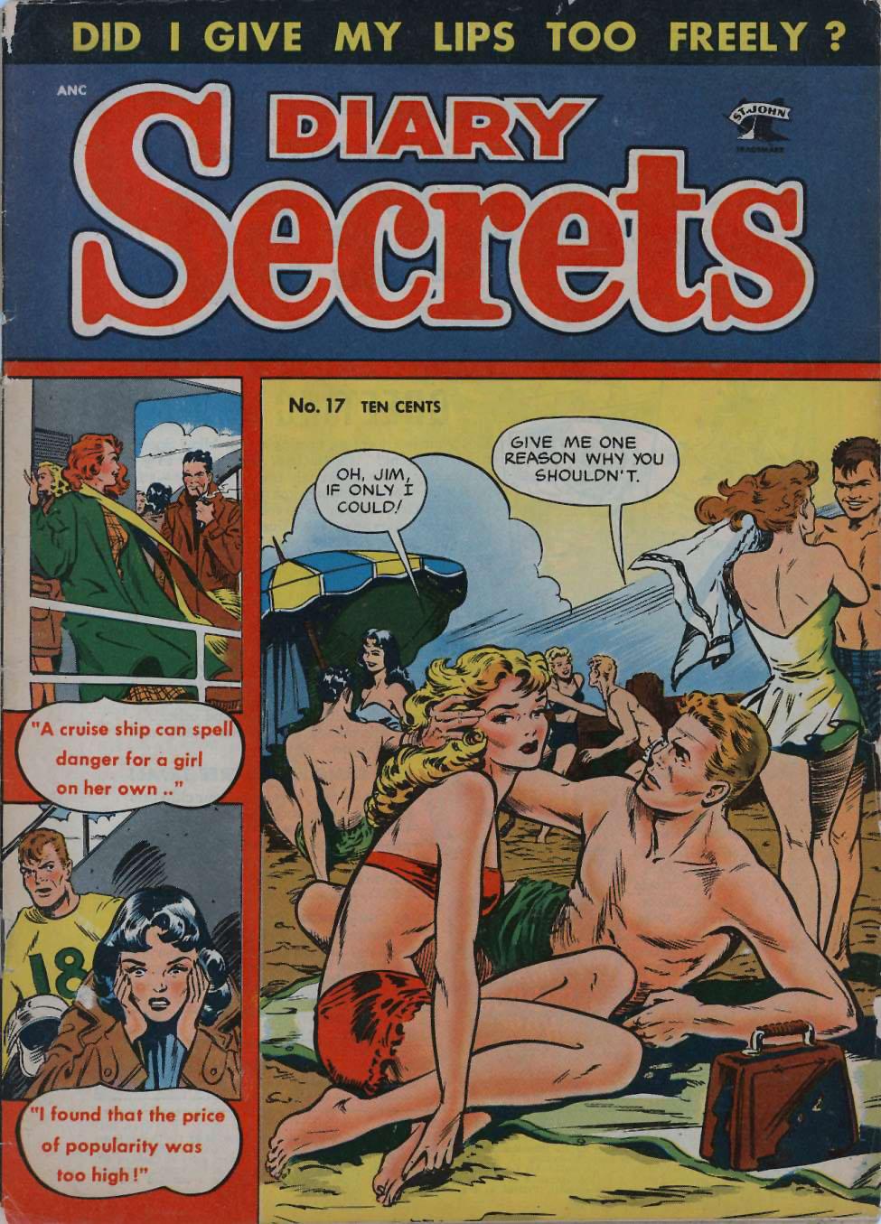 Diary Secrets #17, St. John