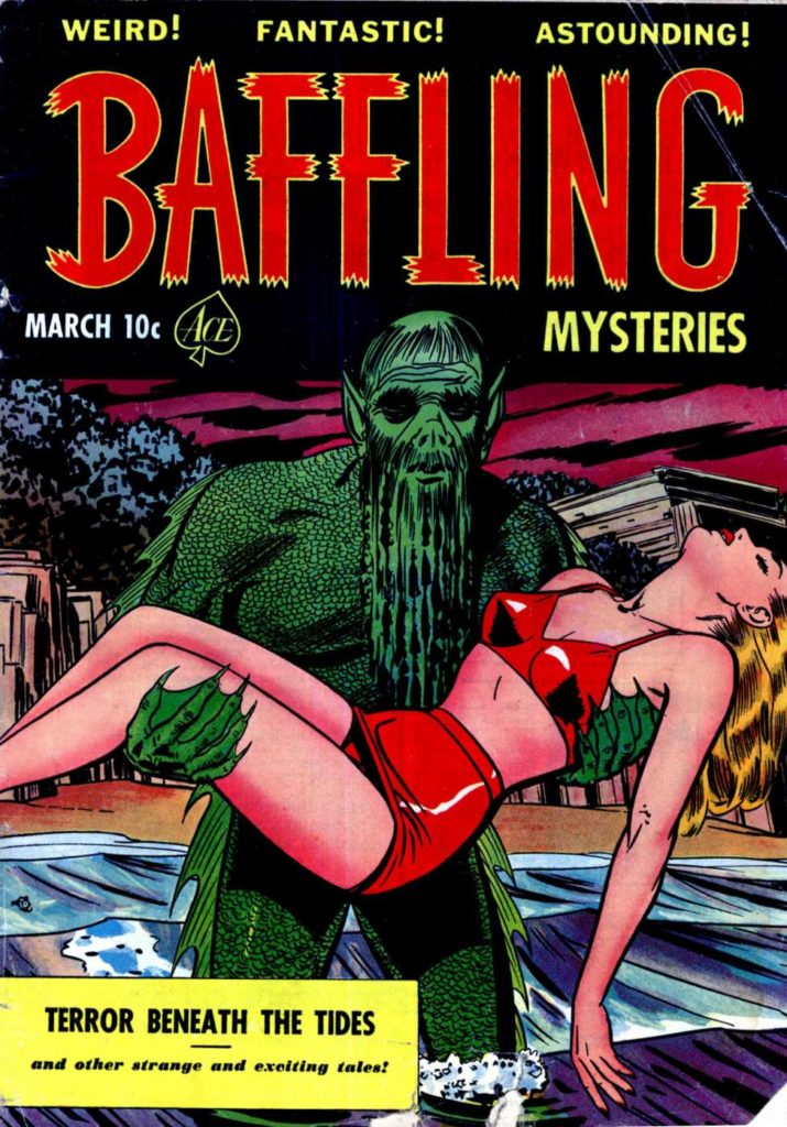 Baffling Mysteries #7, Ace