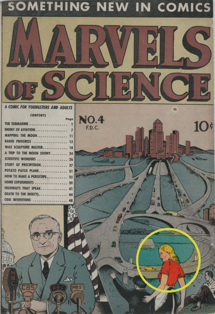 Marvels of Science #4, Charlton
