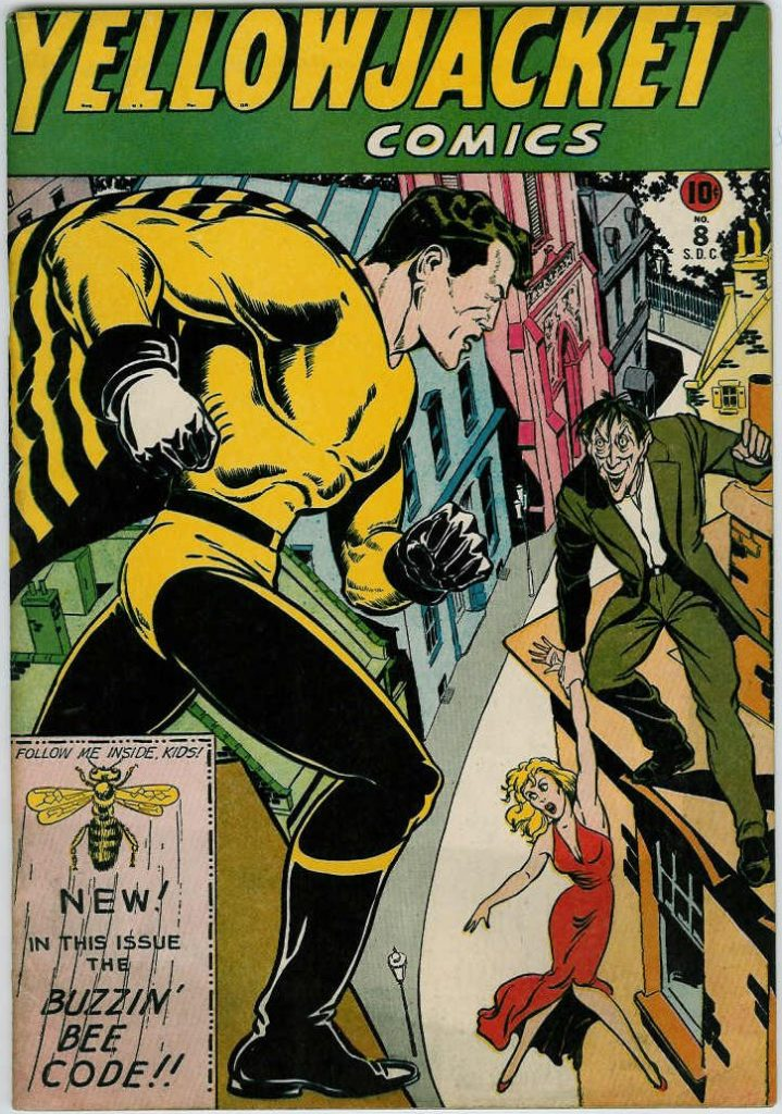 Yellowjacket Comics #8, Charlton