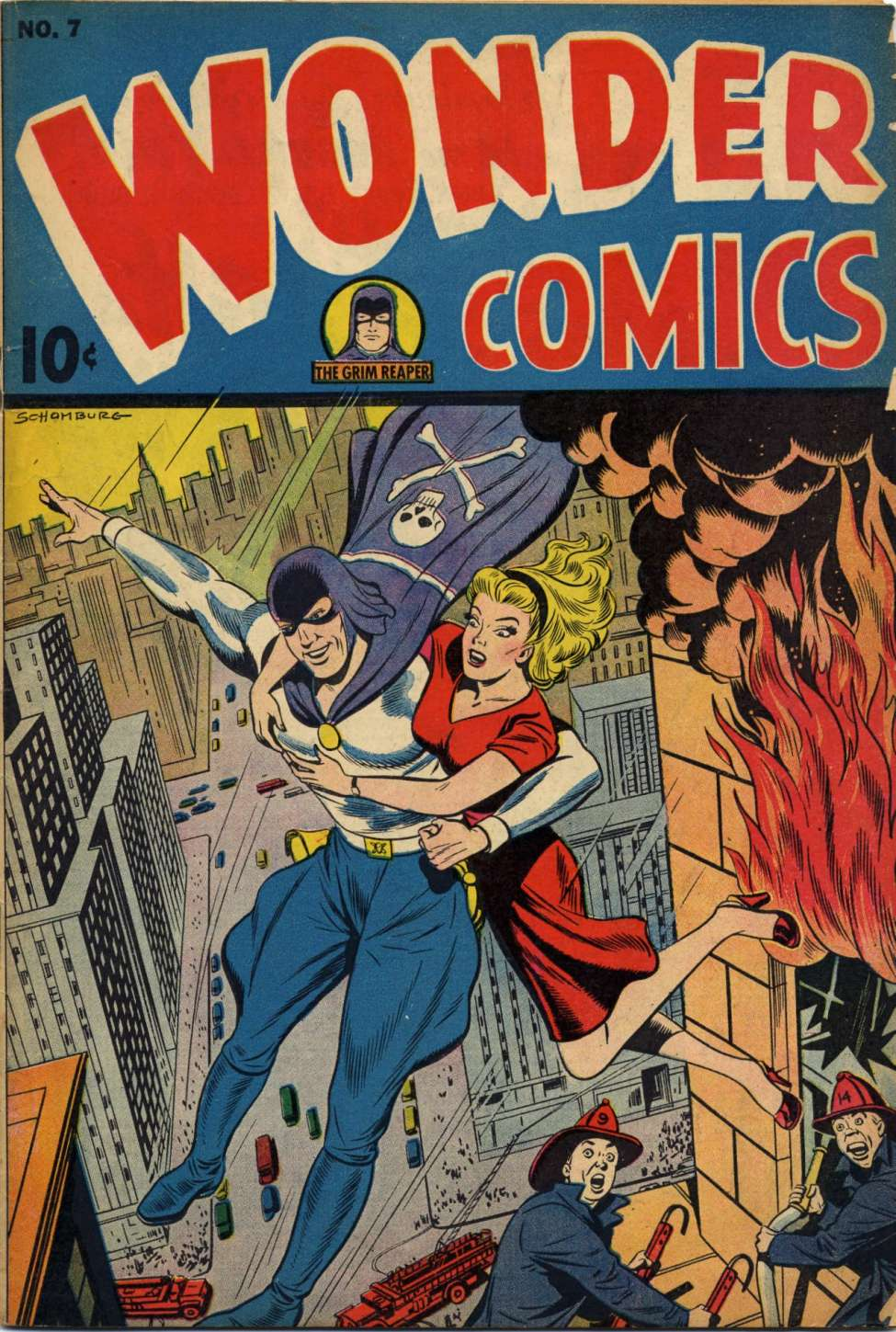 Wonder Comics #7, Pines