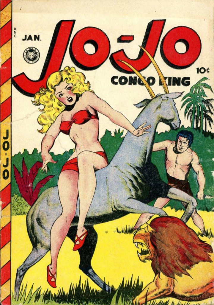 Jo-Jo Congo King #10, Fox