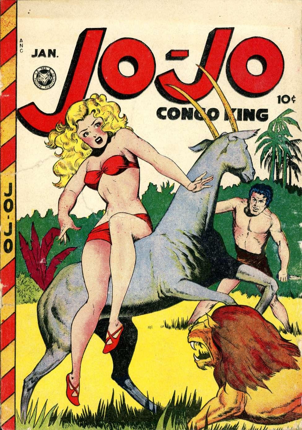 Jo-Jo Congo King #10, Fox