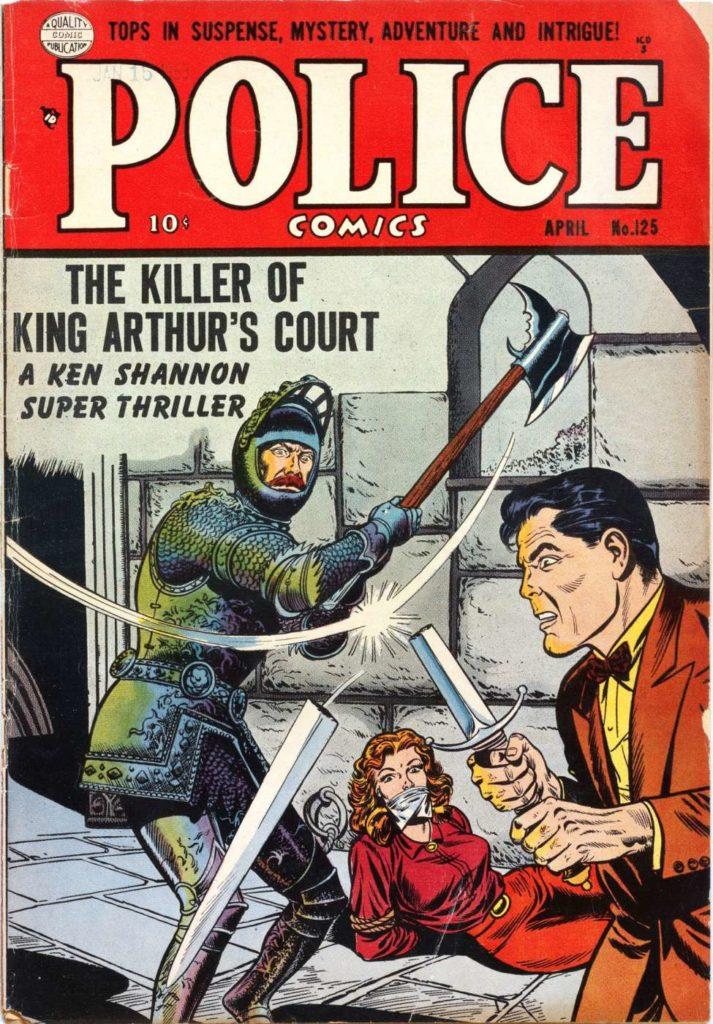 Police Comics #125, Quality