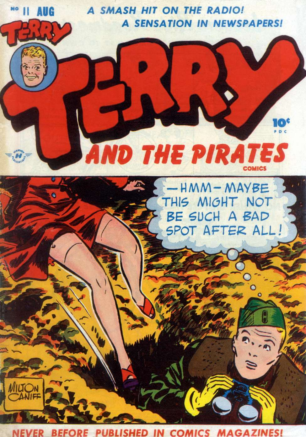 Terry and the Pirates #11, Harvey